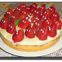 Rychlý jahodový dort (Jahodová strašidla)