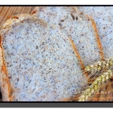 Obyčejný chleba s mákem a otrubami (pekárna)