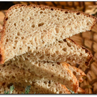Žitný chléb se sezamem