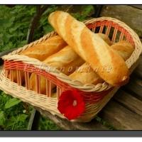 Sezamové bagetky s prefermentem
