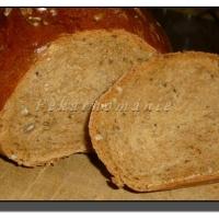 Slunečnicový chleba s omládkem