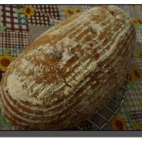 Kváskový chleba 1-2-3 s ovesnými vločkami