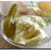 Desetivteřinová majonéza (a tatarská omáčka)