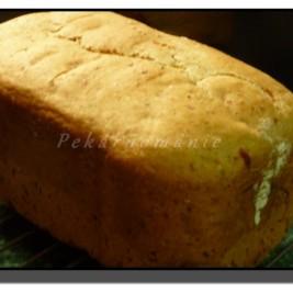 Chlebík s pohankovými vločkami