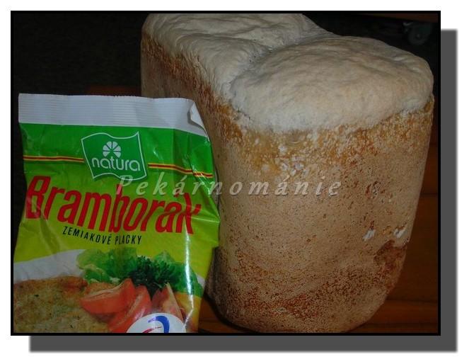 Kváskový chleba s bramborákem