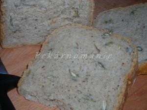 Lehounký pšenično-žitný chlebík