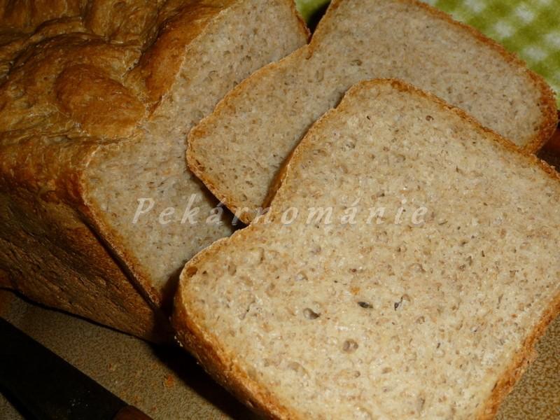 70% celozrnný chleba