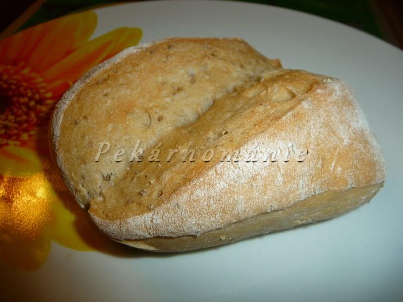 Pšenično - žitné dalamánky s omládkem