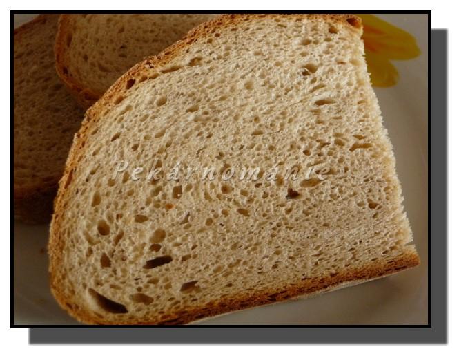 Kefírový chleba (s koupenou směsí na chleba)