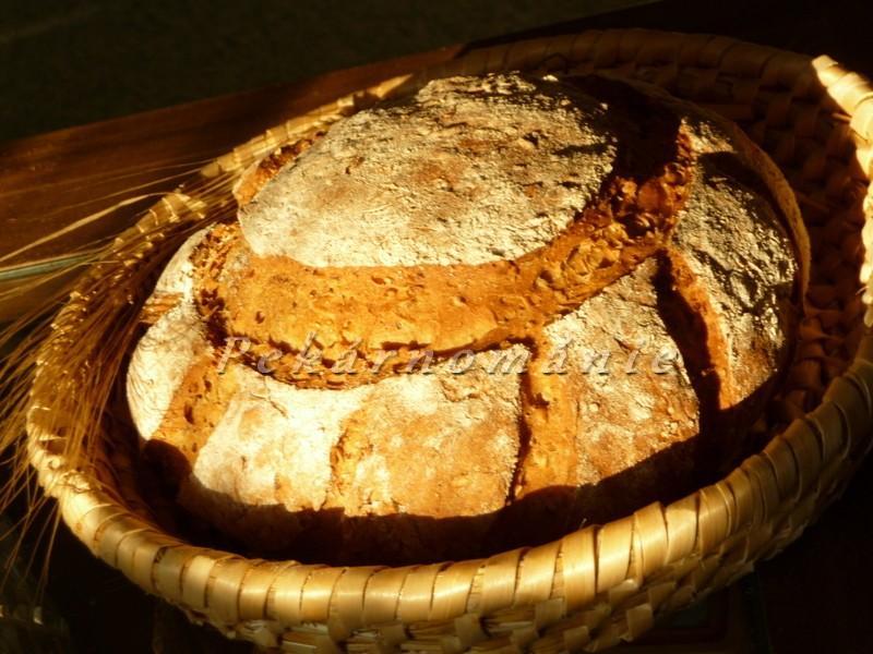 Černý pivní chleba