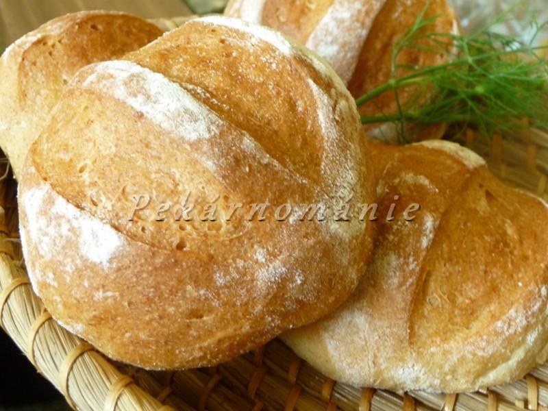 """""""Naklíčené"""" bulky (s pšeničnými klíčky)"""