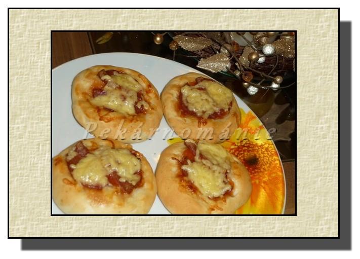 Slané koláčky (minipizzy)