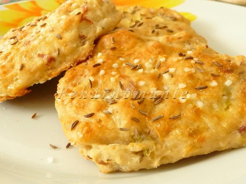 Chlebové zelné placky