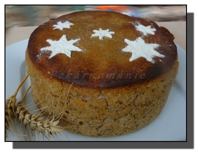 Žitný kváskový chleba