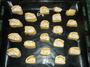 Kynuté mandlové pusinky