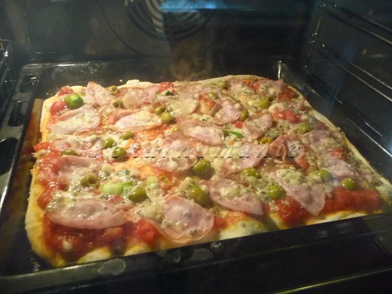 nejjednodušší pizza