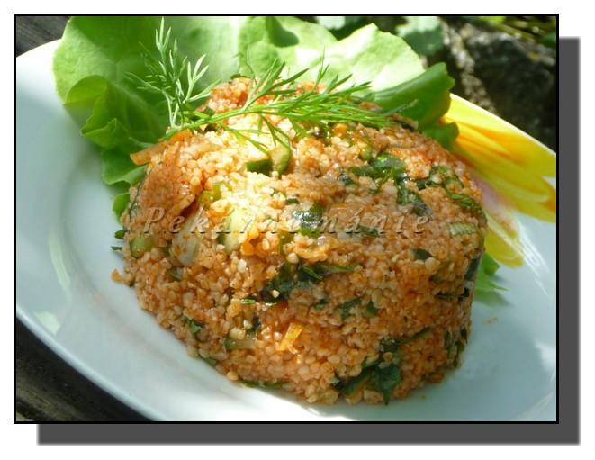 Kisir (turecký salát)