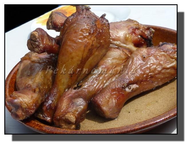 Kuře v komíně
