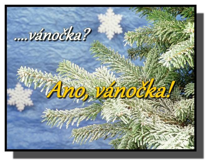 ...vánočka