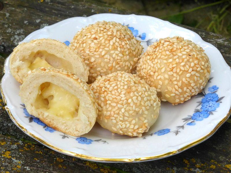 Sýrovo-sezamové pralinky