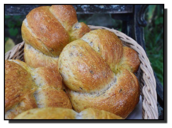 Pšeničné uzly se lnem a otrubami