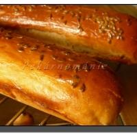 Pšeničné bagetky s 60% celozrnné mouky