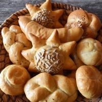 Sádlové housky (a další rychlé pečivo)