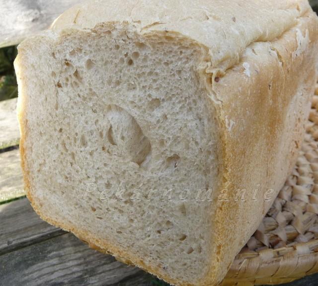 Chleba s prefermentem a lžící kvásku