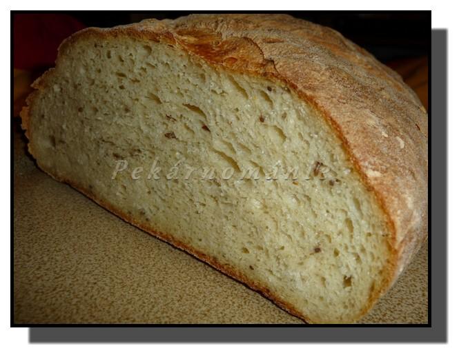Bramborový chleba z trouby