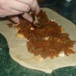 Jablkový závin ze ždímaného těsta
