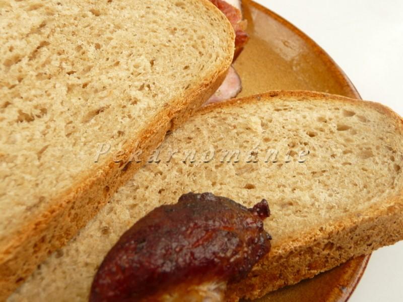 Grilovací chlebík s bramborem a syrovátkou