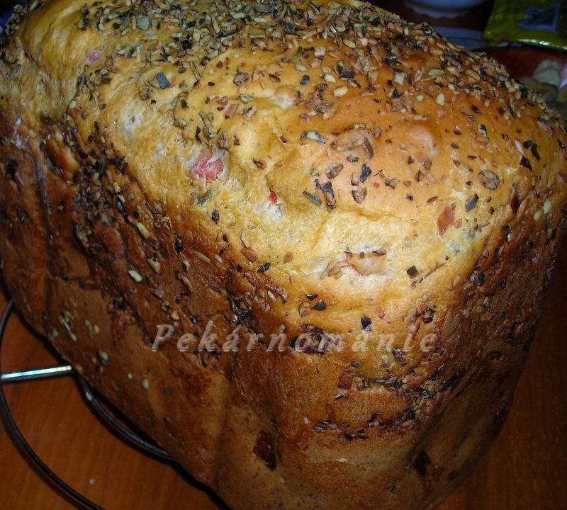 Chlebík se šunkou