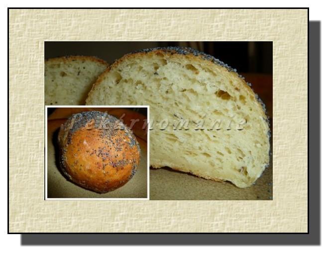 bramborovo-sýrové bulky s mákem