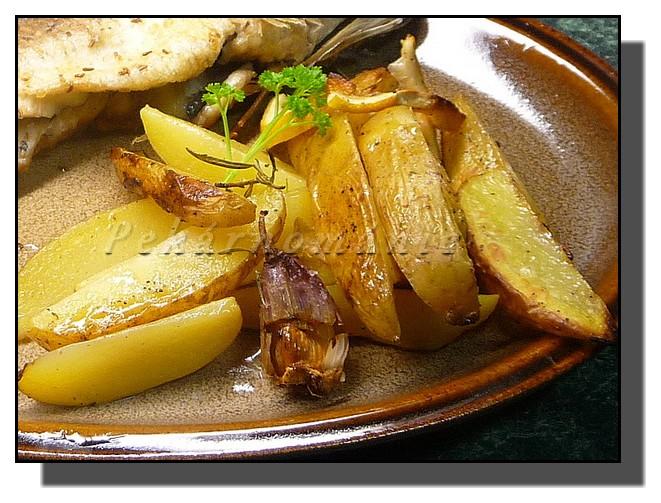 Citrónové brambory (v remosce)
