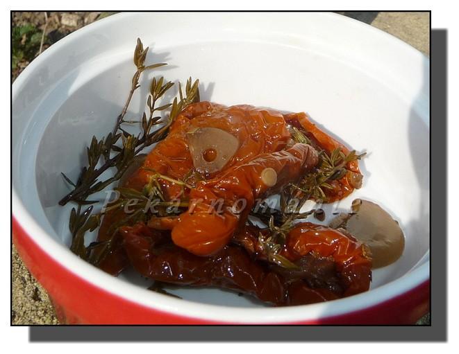 Sušená rajčata v oleji