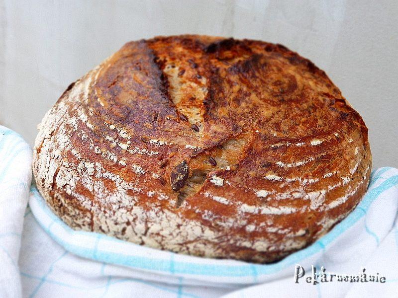 Pšeničný chleba se semínkovou záparou
